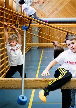 Dagens Nyheter Intervjuar deltagare Stockholm Sport Academy Parkourläger